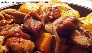 Ojakhuri,Georgian cuisine